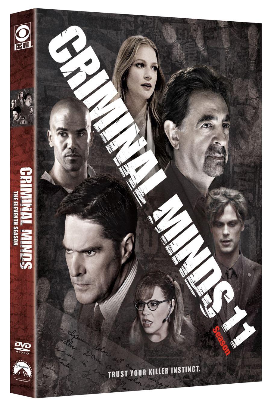 CRIMINAL MINDS Season 11 DVD