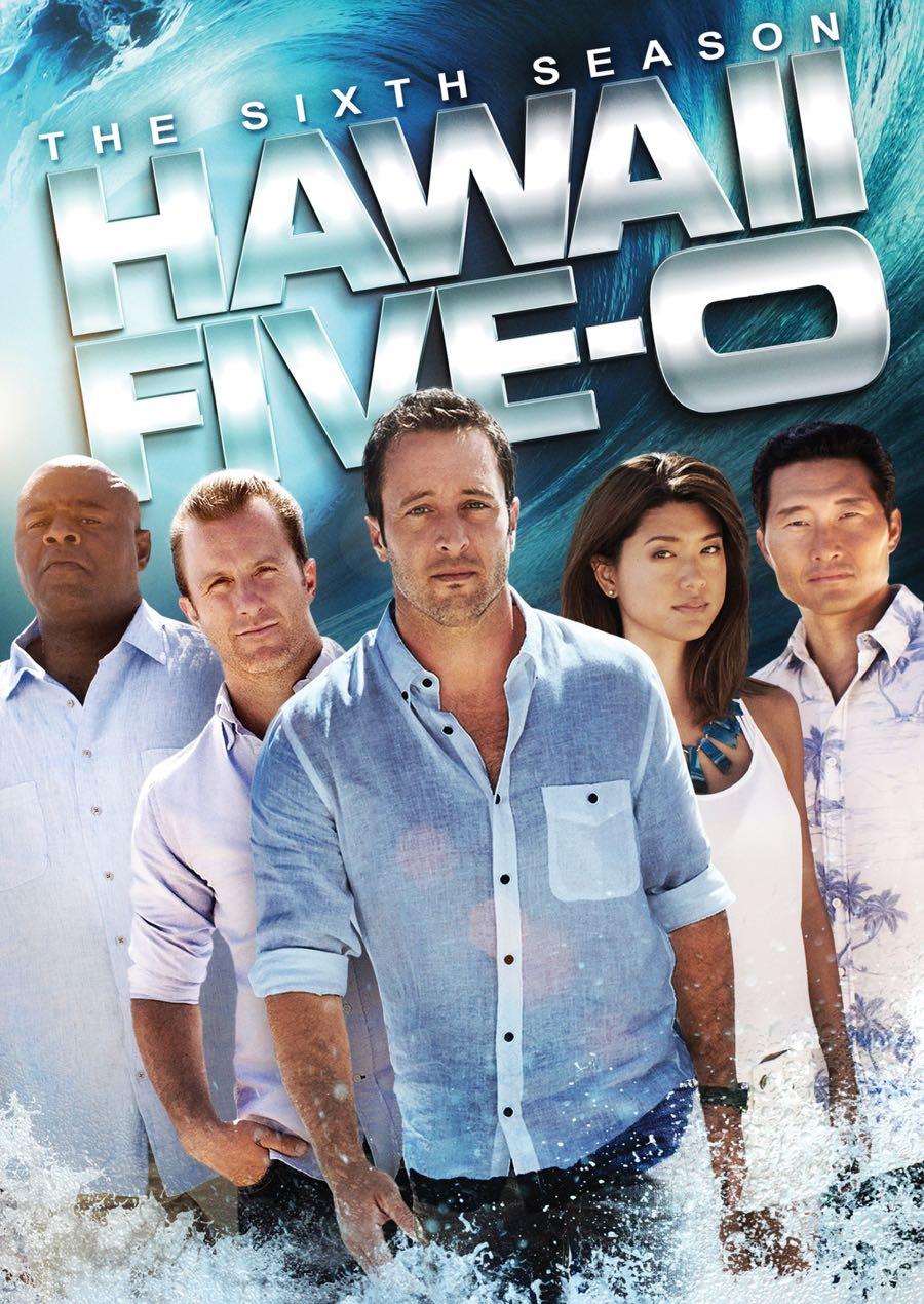 HAWAII FIVE 0 Season 6 DVD