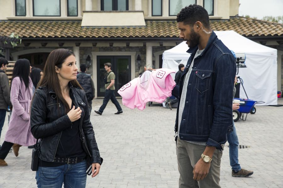 Shiri Appleby and Jeffrey Bowyer-Chapman star in Season 2 of Lifetime's hit drama UnREAL airing, Monday, June 27th at 10pm ET/PT on Lifetime. Photo by James Dittiger Copyright 2016