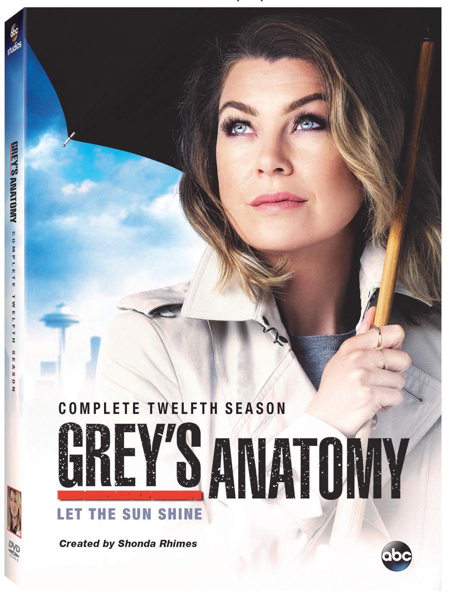GREY'S ANATOMY Season 12 DVD