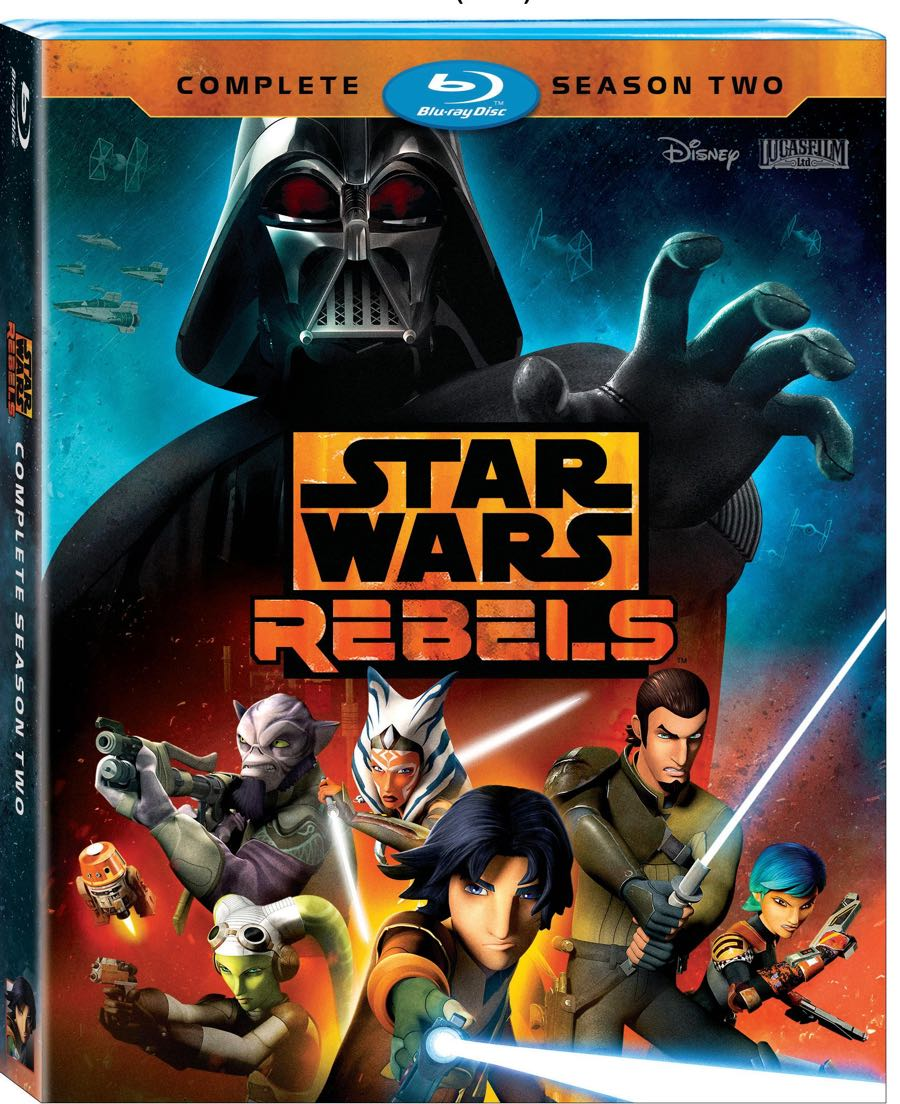 STAR WARS REBELS SEASON 2 BLURAY