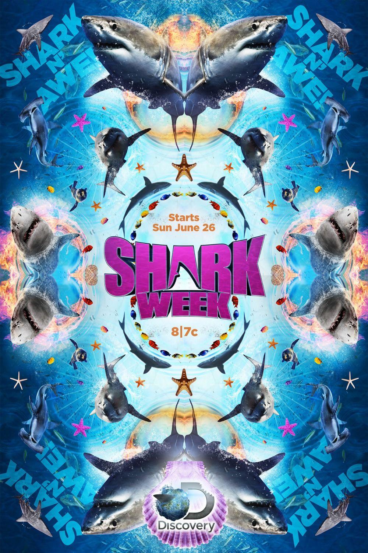 Shark Week 2016 Poster