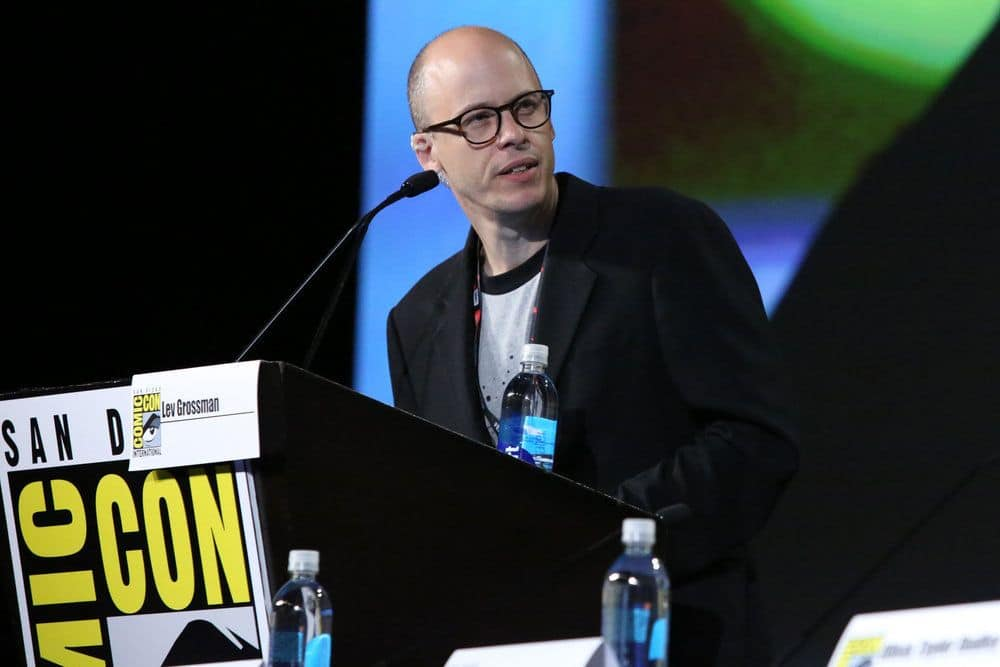 """COMIC-CON INTERNATIONAL: SAN DIEGO -- """"The Magicians Panel"""" -- Pictured: Author Lev Grossman -- (Photo by: Evans Vestal Ward/Syfy)"""