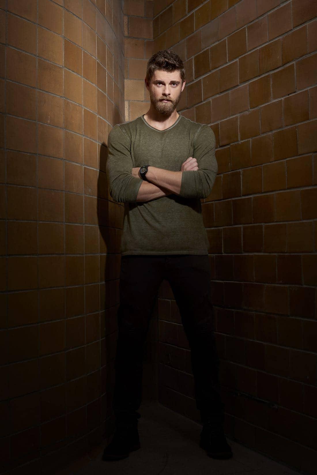 BLINDSPOT -- Season: 2 -- Pictured: Luke Mitchell as Roman -- (Photo by: Virginia Sherwood/NBC)