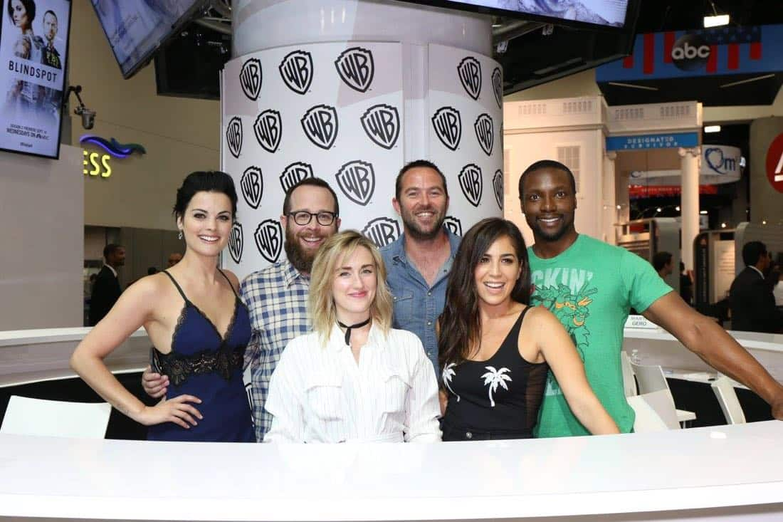 The cast and producers of BLINDSPOT come together at Comic-Con 2016 on Friday, July 22 to meet fans and sign autographs.