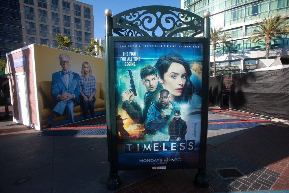 "COMIC-CON INTERNATIONAL: SAN DIEGO 2016 -- ""NBC at Comic-Con"" -- Pictured: ""Timeless""; NBC at Comic-Con, San Diego, Calif. -- (Photo by: David Yeh/NBC)"
