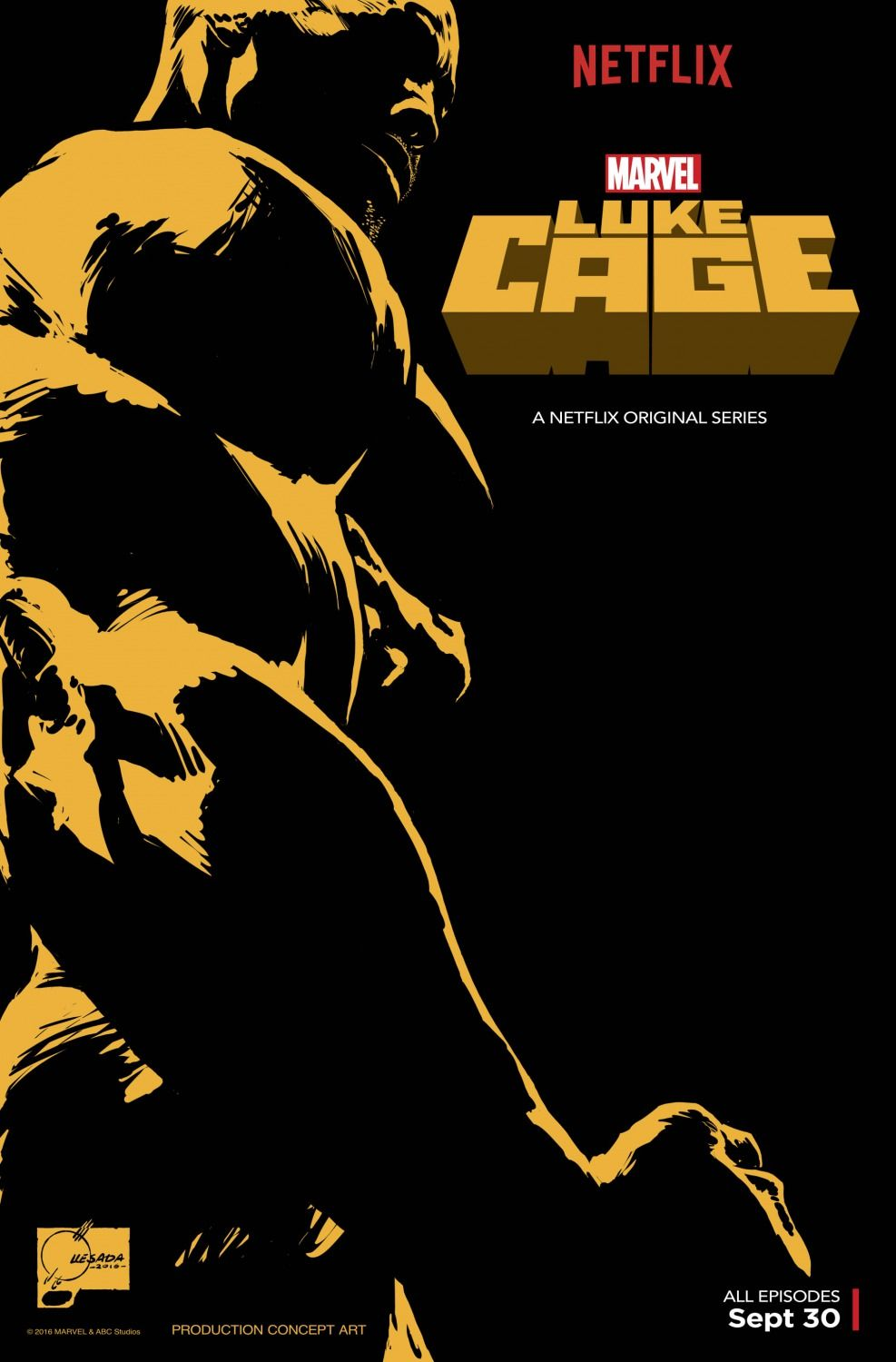 Luke Cage Season 1 Poster Marvel