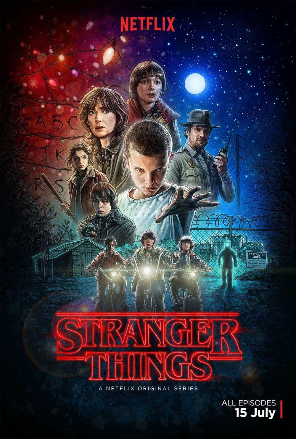 STRANGER THINGS Poster Key Art 1