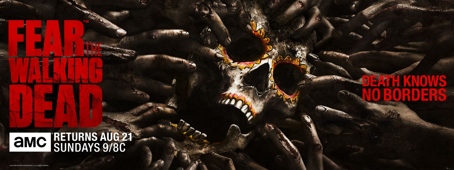 Fear The Walking Dead Comic Con Key Art