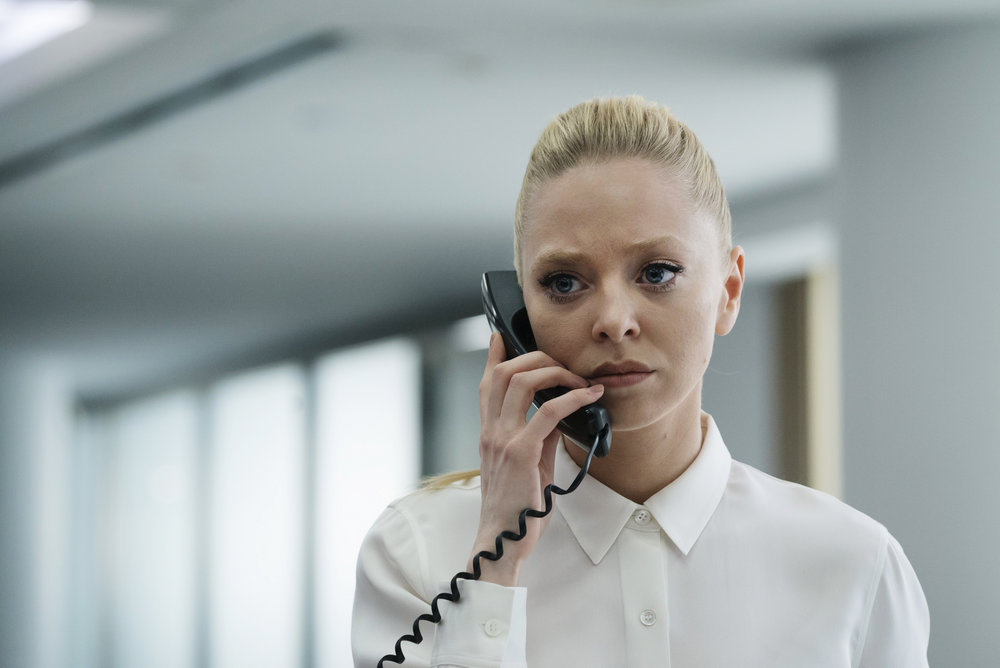 "MR. ROBOT -- ""eps2.0_unmasking.zip"" Episode 201 -- Pictured: Portia Doubleday as Angela Moss -- (Photo by: Peter Kramer/USA Network)"
