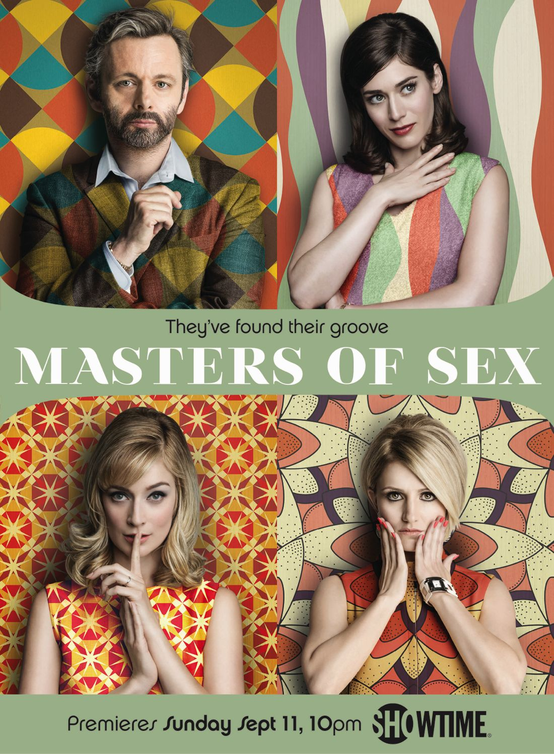 MASTERS OF SEX Season 4 Poster