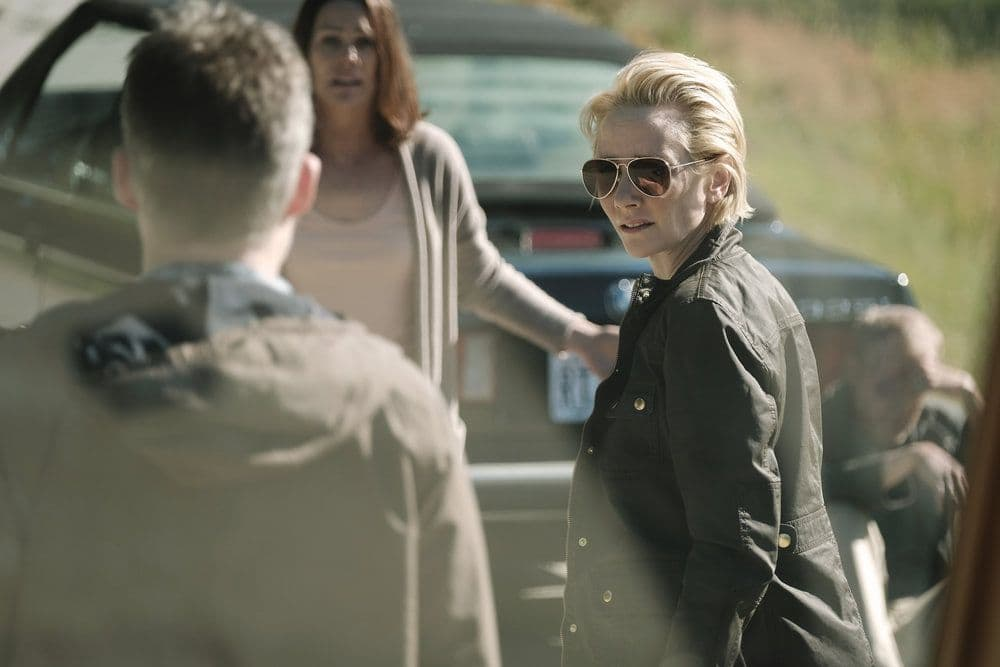 "AFTERMATH -- ""RVL 6768"" Episode 101 -- Pictured: Anne Heche as Karen Copeland -- (Photo by: Eike Schroter/Aftermath ULC/Syfy)"