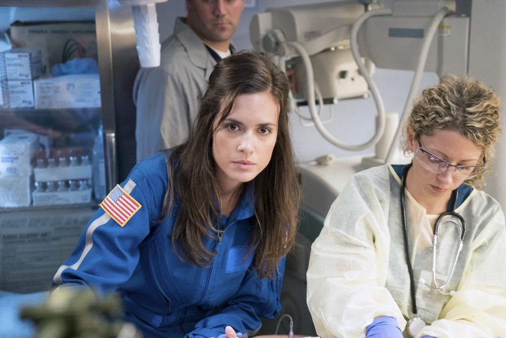"CHICAGO MED -- ""Soul Care"" Episode 201 -- Pictured: Torrey DeVitto as Natalie Manning -- (Photo by: Elizabeth Sisson/NBC)"