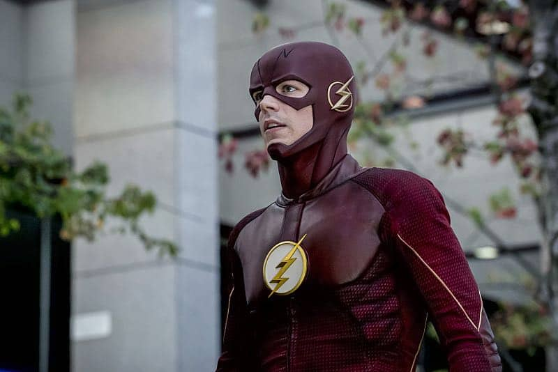 """The Flash -- """"Monster"""" -- Image FLA305a_0120b.jpg -- Pictured: Grant Gustin as The Flash -- Photo: Katie Yu/The CW -- © 2016 The CW Network, LLC. All rights reserved."""