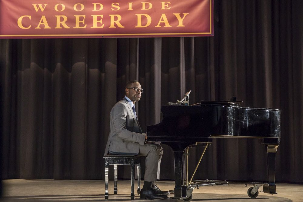 """THIS IS US -- """"Career Days"""" Episode 106 -- Pictured: Sterling K Brown as Randall -- (Photo by: Ron Batzdorff/NBC)"""