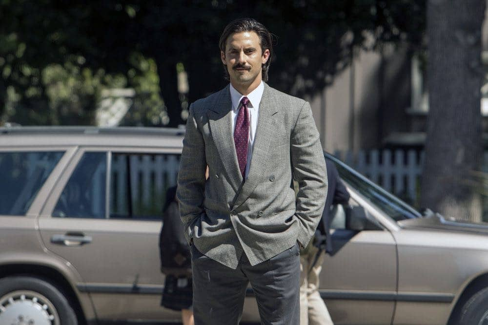 """THIS IS US -- """"Career Days"""" Episode 106 -- Pictured: Milo Ventimiglia as Jack -- (Photo by: Ron Batzdorff/NBC)"""