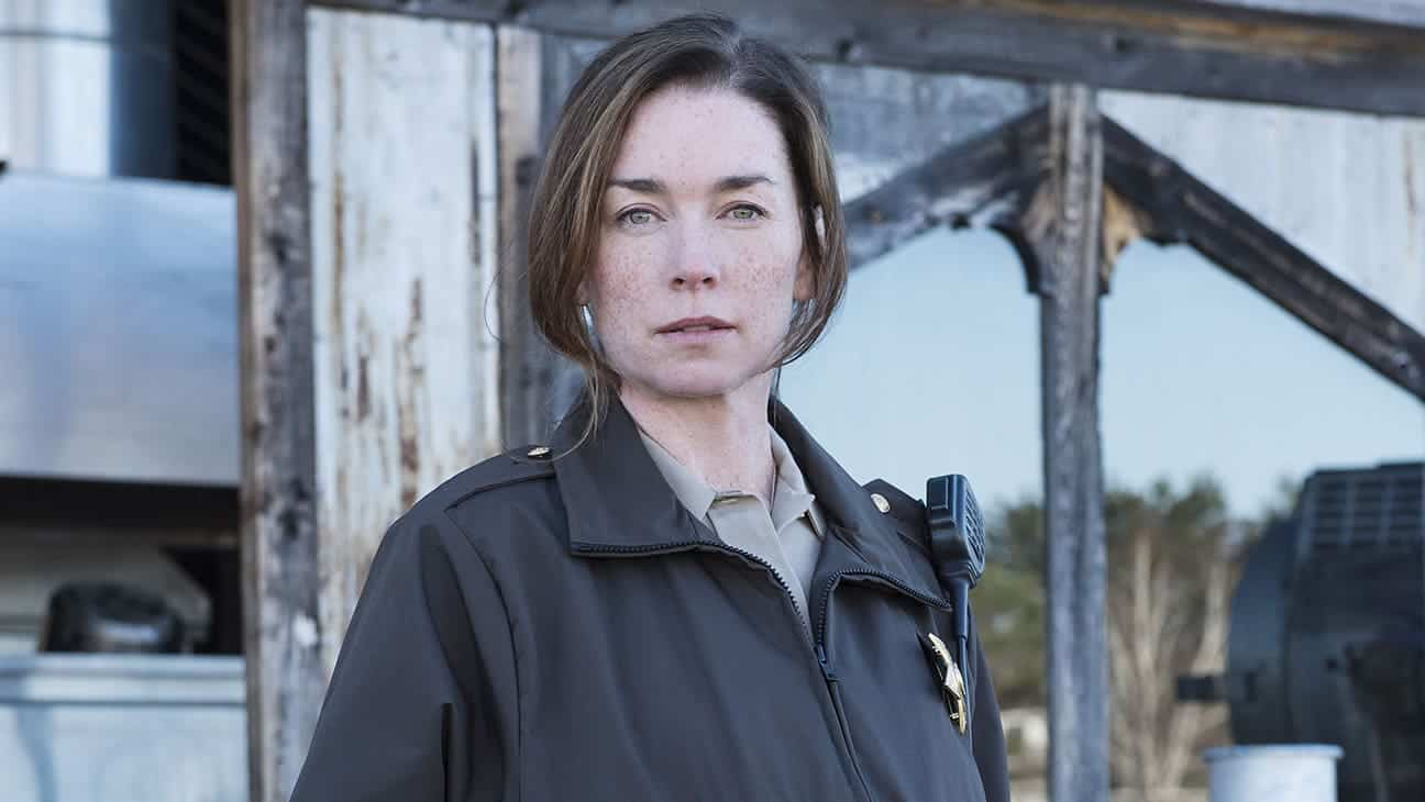 "EYEWITNESS -- ""Pilot"" Episode 101 -- Pictured: Julianne Nicholson as Helen Torrance -- (Photo by: Christos Kalohoridis/USA Network)"