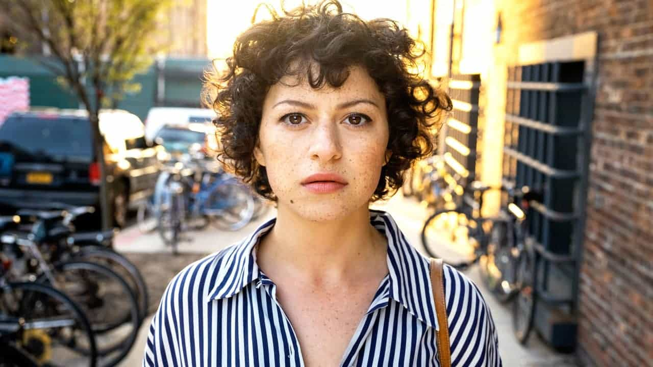 """Alia Shawkat stars in """"Search Party,"""" premiering Monday on TBS."""