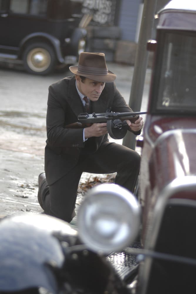 "TIMELESS -- ""Last Ride of Bonnie & Clyde"" Episode 108 -- Pictured: Goran Visnjic as Garcia Flynn -- (Photo by: Sergei Bachlakov/NBC)"