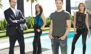 THE ARRANGEMENT -- Season: Pilot -- Pictured: (l-r) Michael Vartan, Lexa Doig, Josh Henderson, Christine Evangelista -- (Photo by: Jeff Lipsky/E! Entertainment)