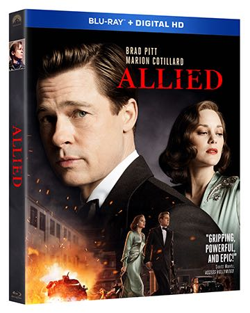 Allied Bluray Cover Artwork