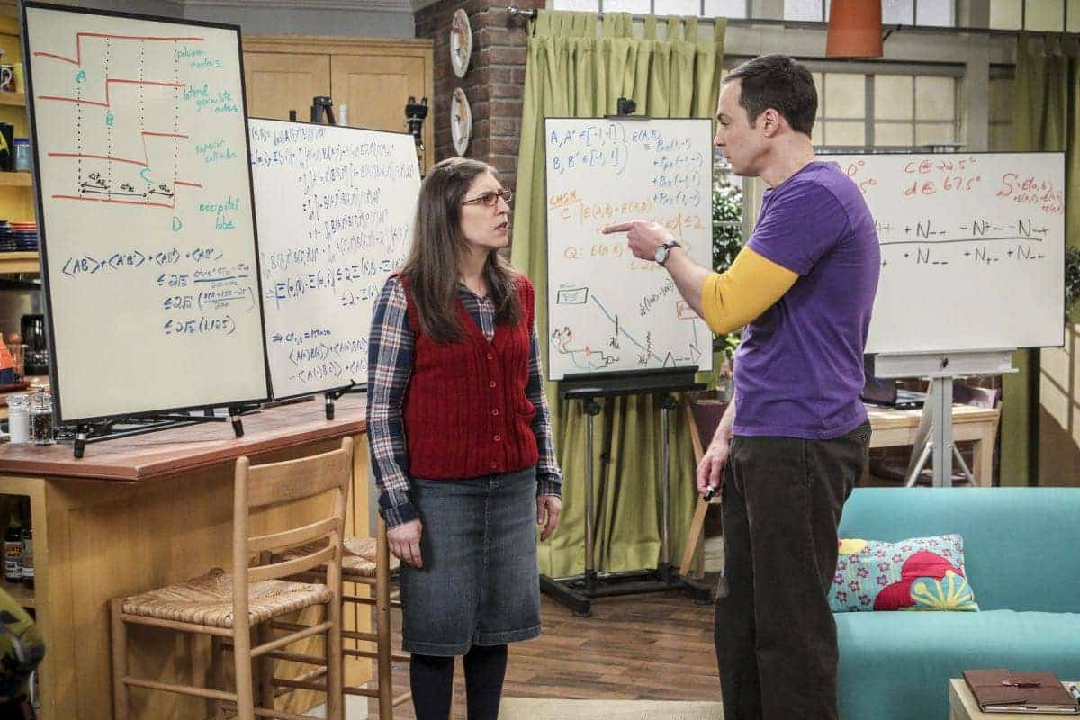 Image result for sheldon and amy the collaboration fluctuation