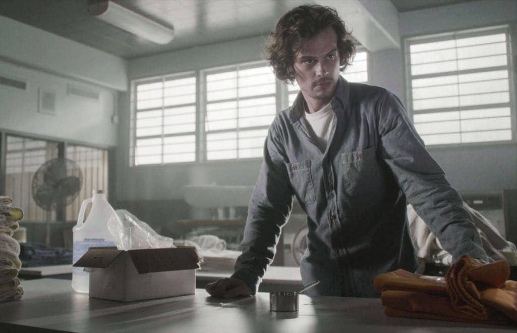 Matthew Gray Gubler (Dr. Spencer Reid) Prison Criminal Minds