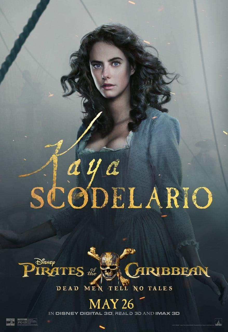 Pirates of the Caribbean: Dead Men Tell No Tales Kaya Scodelario Poster