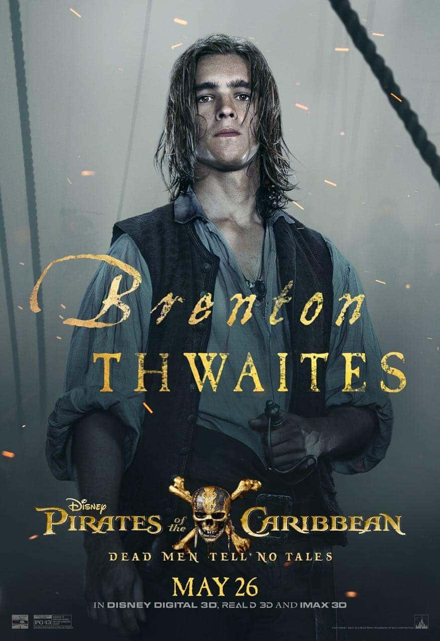 Pirates of the Caribbean: Dead Men Tell No Tales Brenton Thwaites Poster