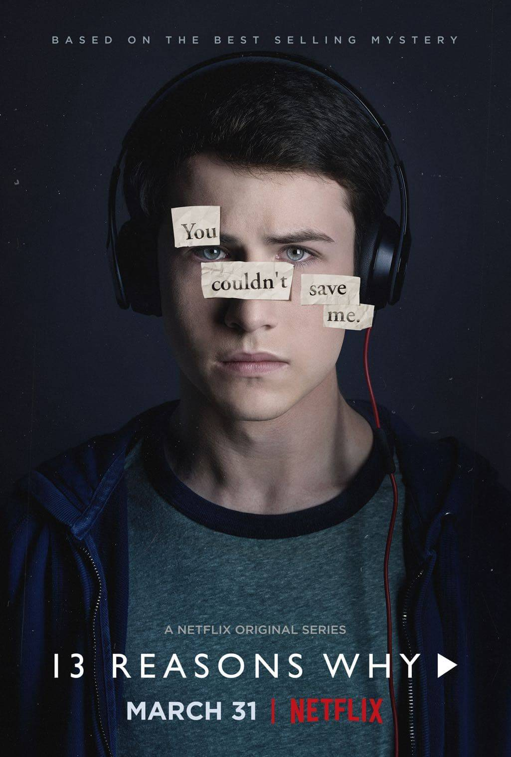 Image result for 13 reasons why Mr. porter poster