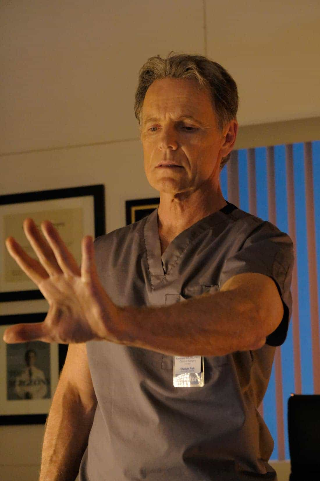 THE RESIDENT: Bruce Greenwood in THE RESIDENT premiering midseason on FOX. ©2017 Fox Broadcasting Co. Cr: Guy D'Alema/FOX