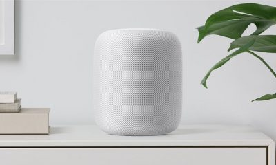 apple homepod-white-shelf