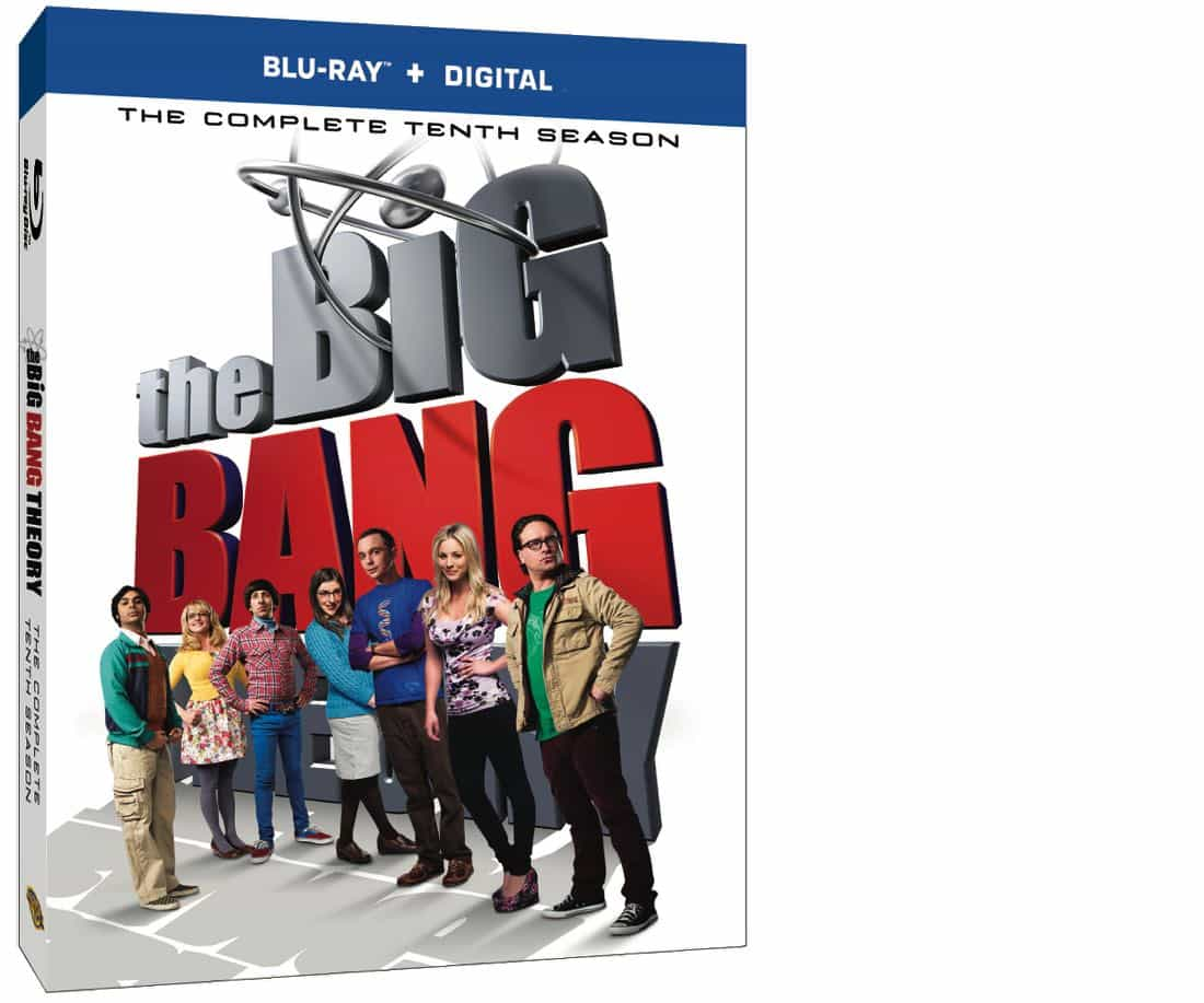 THE BIG BANG THEORY Season 10 Bluray