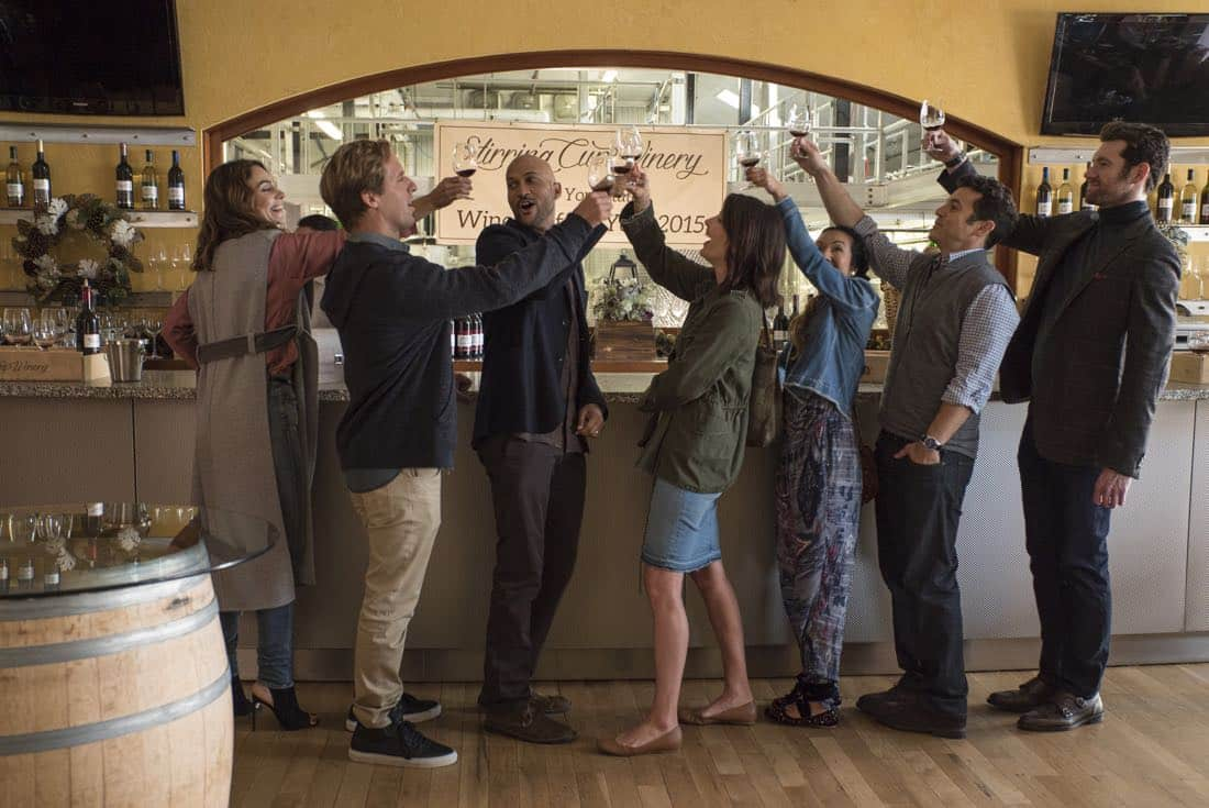 Cobie Smulders, Keegan Michael-Key star in hilarious Friends From College trailer