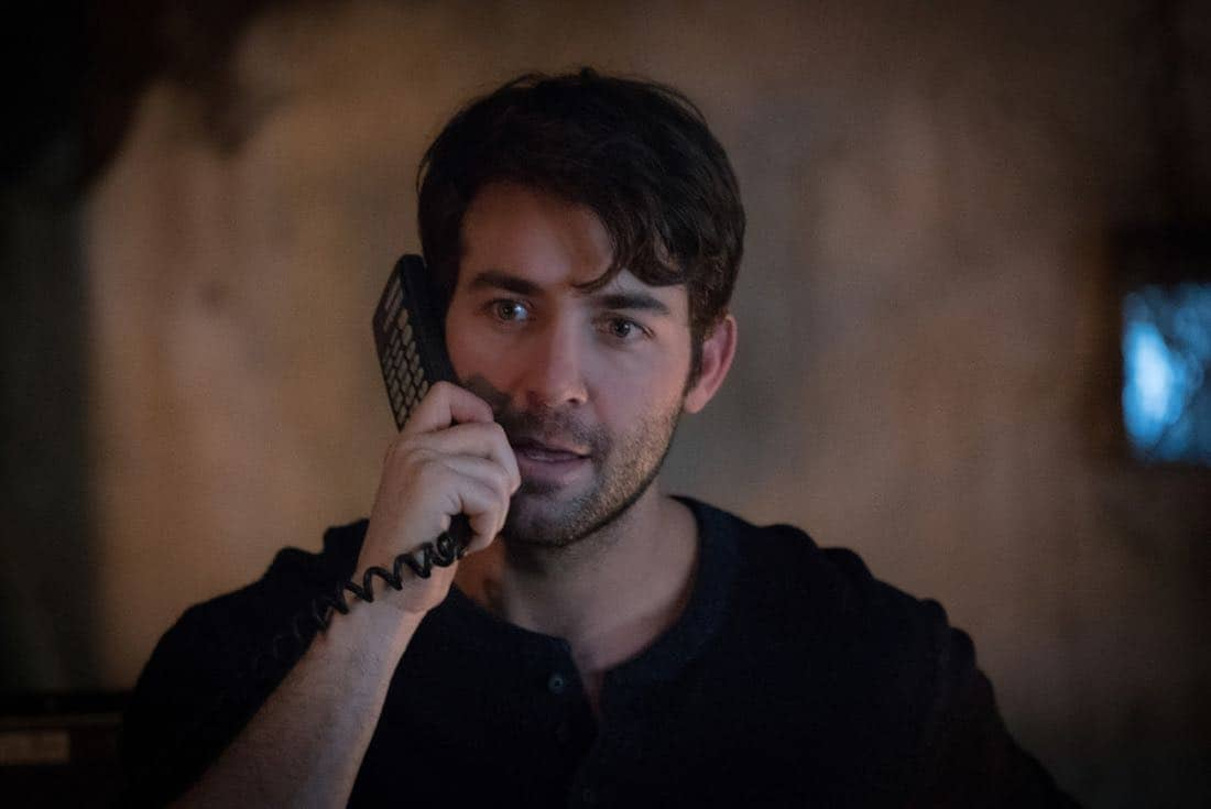 "Zoo ""Ten Years Gone"" Pictured James Wolk as Jackson Oz"