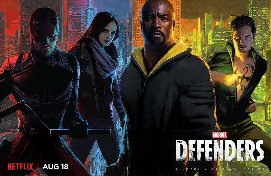 New trailer for The Defenders features Stan Lee and The Punisher