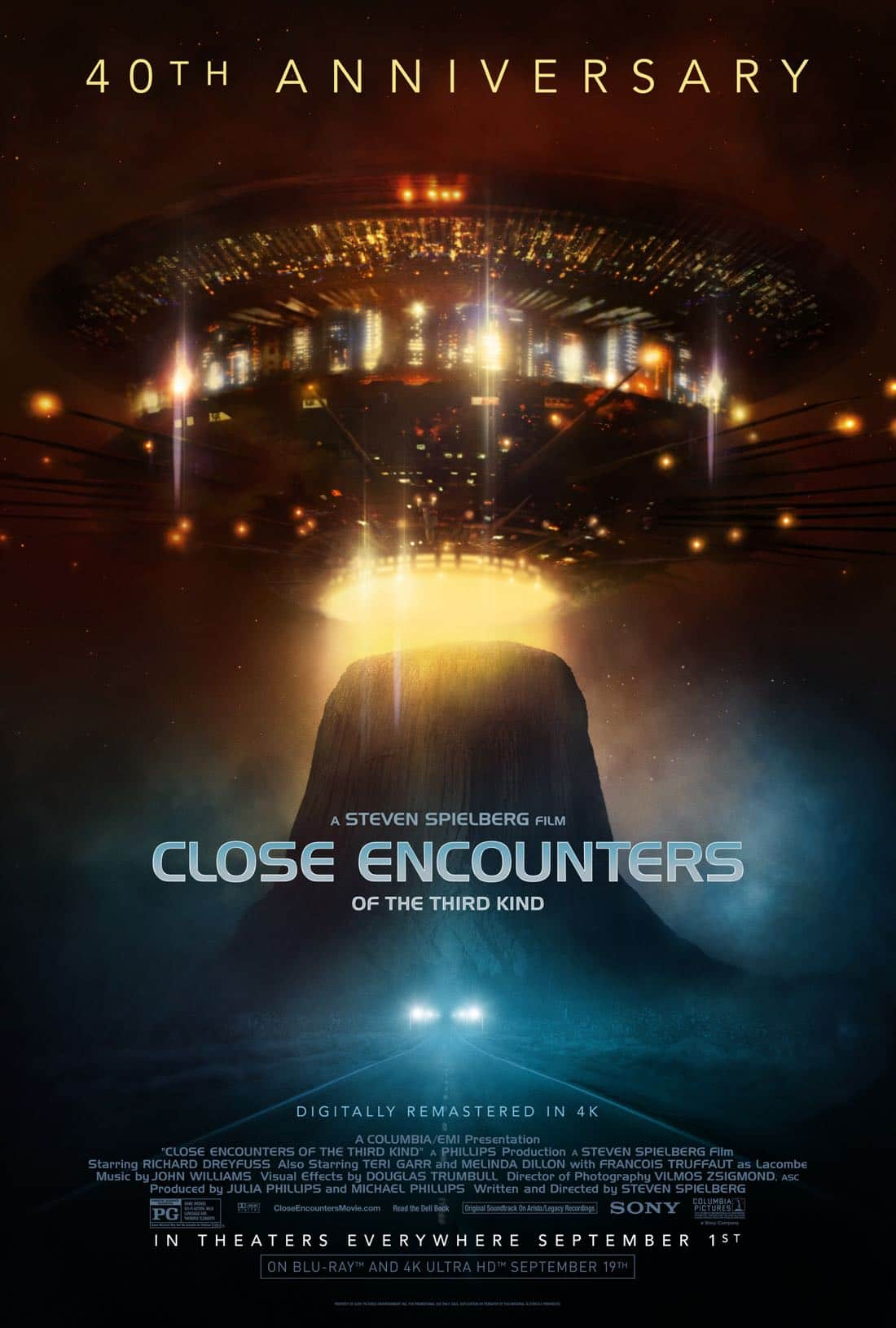 CLOSE ENCOUNTERS OF THE THIRD KIND 40th Anniversary ...