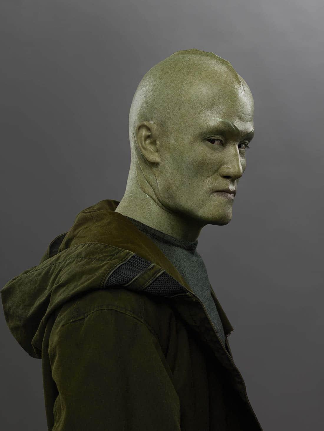 "MARVEL'S INHUMANS - ""Marvel's Inhumans"" stars Mike Moh as Triton. (ABC/Michael Muller)"