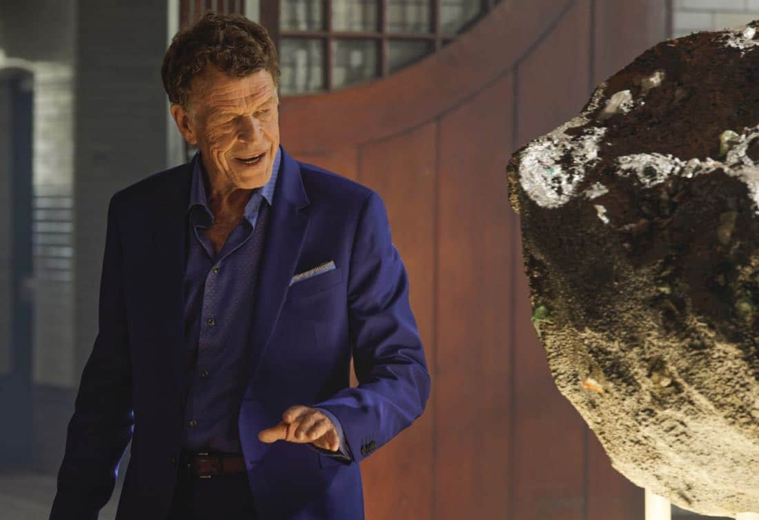 """""""Chip Off the Ol' Block"""" - Darius recruits Grace, Harris and Liam for a dangerous mission, and Jillian confronts Liam about his secret, on SALVATION, Wednesday, August 9 (9:00-10:00, ET/PT). Pictured: John Noble. Photo: Ben Mark Holzberg/CBS ©2017 CBS Broadcasting Inc. All Rights Reserve"""
