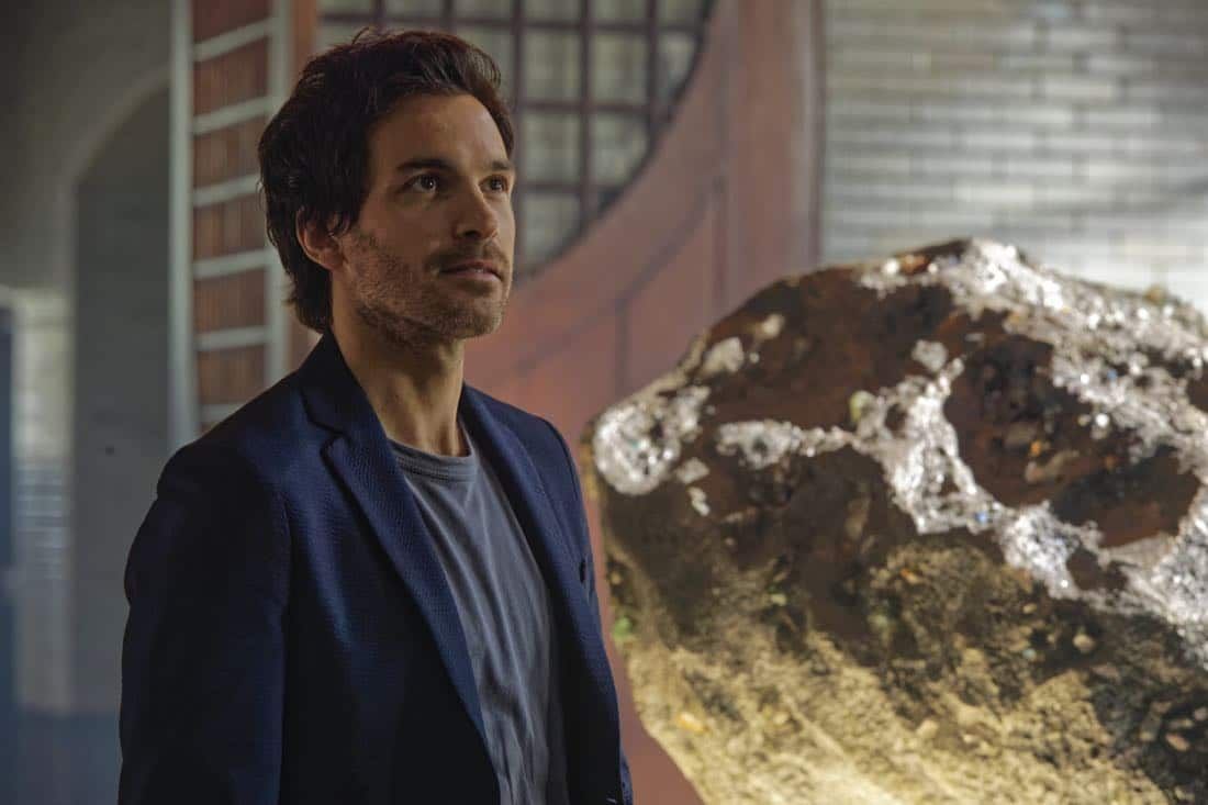 """""""Chip Off the Ol' Block"""" - Darius recruits Grace, Harris and Liam for a dangerous mission, and Jillian confronts Liam about his secret, on SALVATION, Wednesday, August 9 (9:00-10:00, ET/PT). Pictured: Santiago Cabrera. Photo: Ben Mark Holzberg/CBS ©2017 CBS Broadcasting Inc. All Rights Reserved"""