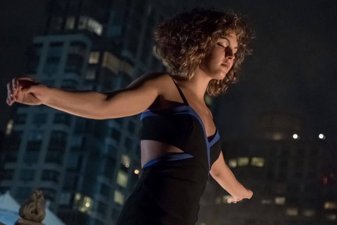 "GOTHAM:  Camren Bicondova in the ""Pax Penguina"" season premiere episode of GOTHAM airing Thursday, Sept. 21 (8:00-9:01 PM ET/PT) on FOX. ©2017 Fox Broadcasting Co. Cr: Jeff Neumann/FOX."