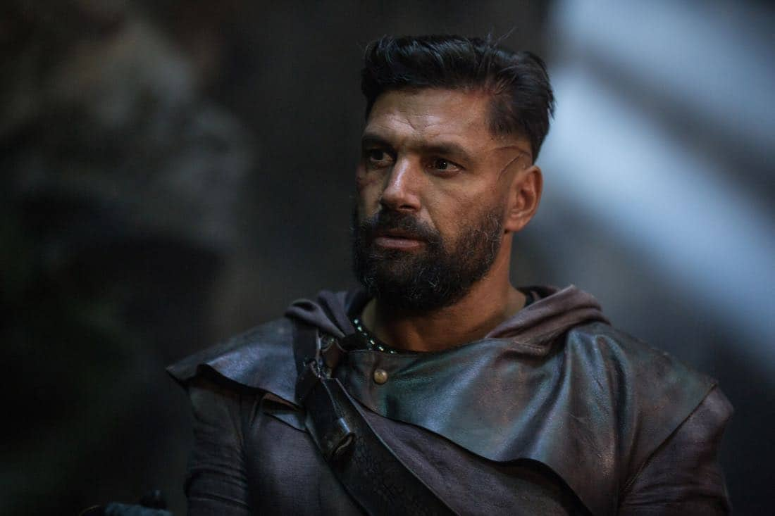 "Allanon (Manu Bennett) stars in ""The Shannara Chronicles"" Season 2 premiering Wednesday, October 11 at 10pm ET/PT on Spike."
