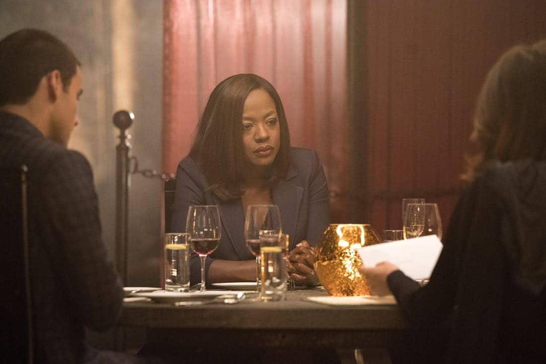 """HOW TO GET AWAY WITH MURDER - """"I'm Going Away"""" - In the wake of Wes' tragic death, Annalise returns to her family home to pick up the pieces of her shattered life, and realizes that, in order to rebuild, she must make a tough and shocking decision. Meanwhile, """"the Keating 4"""" all face an uncertain future while Laurel becomes obsessed with finding out what actually happened to Wes the night he died. In a flash-forward, a terrifying crime is committed and everyone is a suspect on the highly anticipated season four premiere of """"How to Get Away with Murder,"""" THURSDAY, SEPTEMBER 28 (10:00-11:00 p.m. EDT), on The ABC Television Network. (ABC/Mitch Haaseth)"""