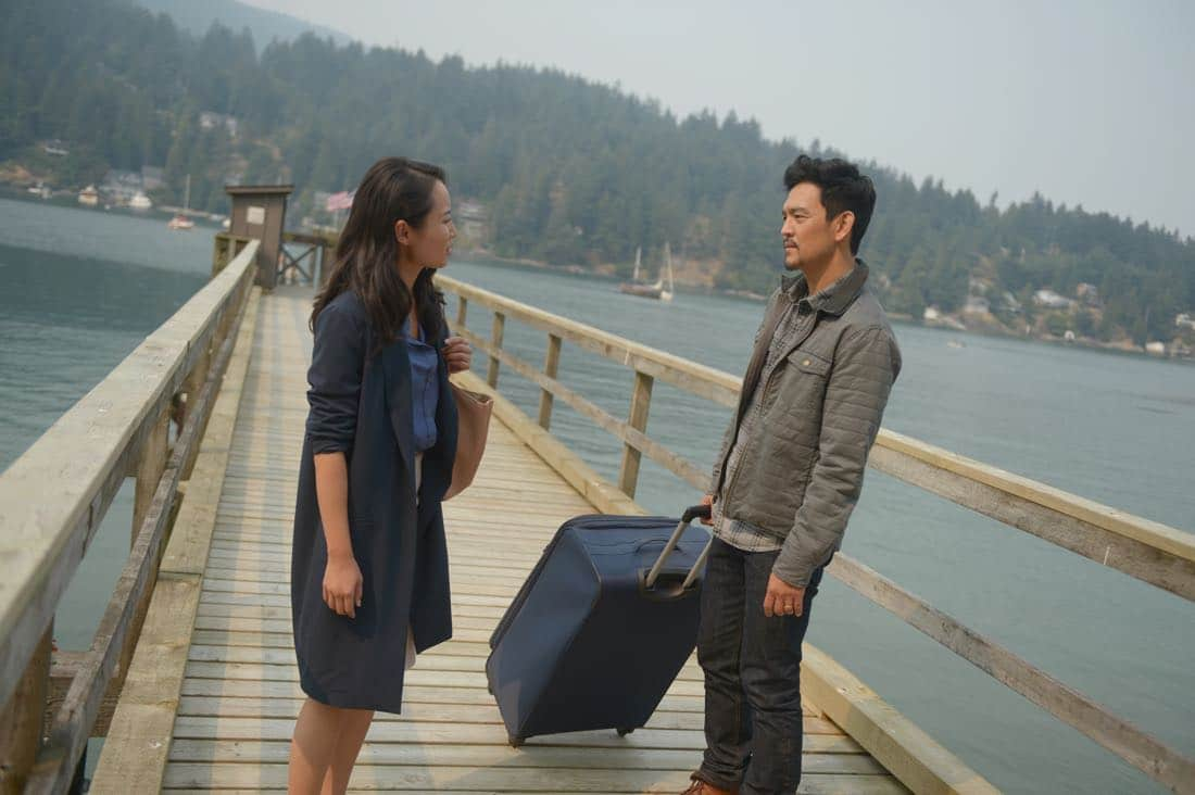 "THE EXORCIST: L-R: Li Jun Li and John Cho in the ""Janus"" season premiere episode of THE EXORCIST airing Friday, Sept. 29 (9:00-10:00 PM ET/PT) on FOX. ©Fox Broadcasting Co. Cr: Sergei Bachlakov/FOX"