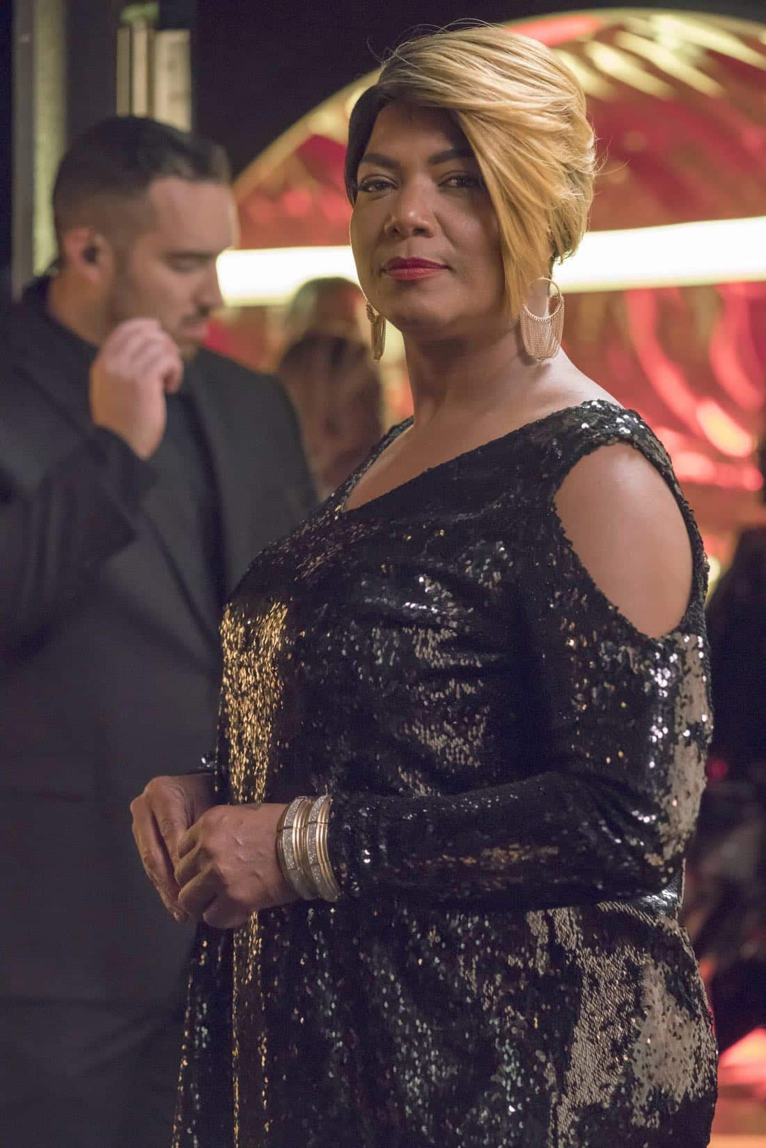 """EMPIRE: Pictured L-R: Guest star Queen Latifah in the """"Noble Memory"""" episode of EMPIRE premiering Wednesday, Sept. 27 (8:00-9:00 PM ET/PT) on FOX. ©2017 Fox Broadcasting Co. CR: Chuck Hodes/FOX"""