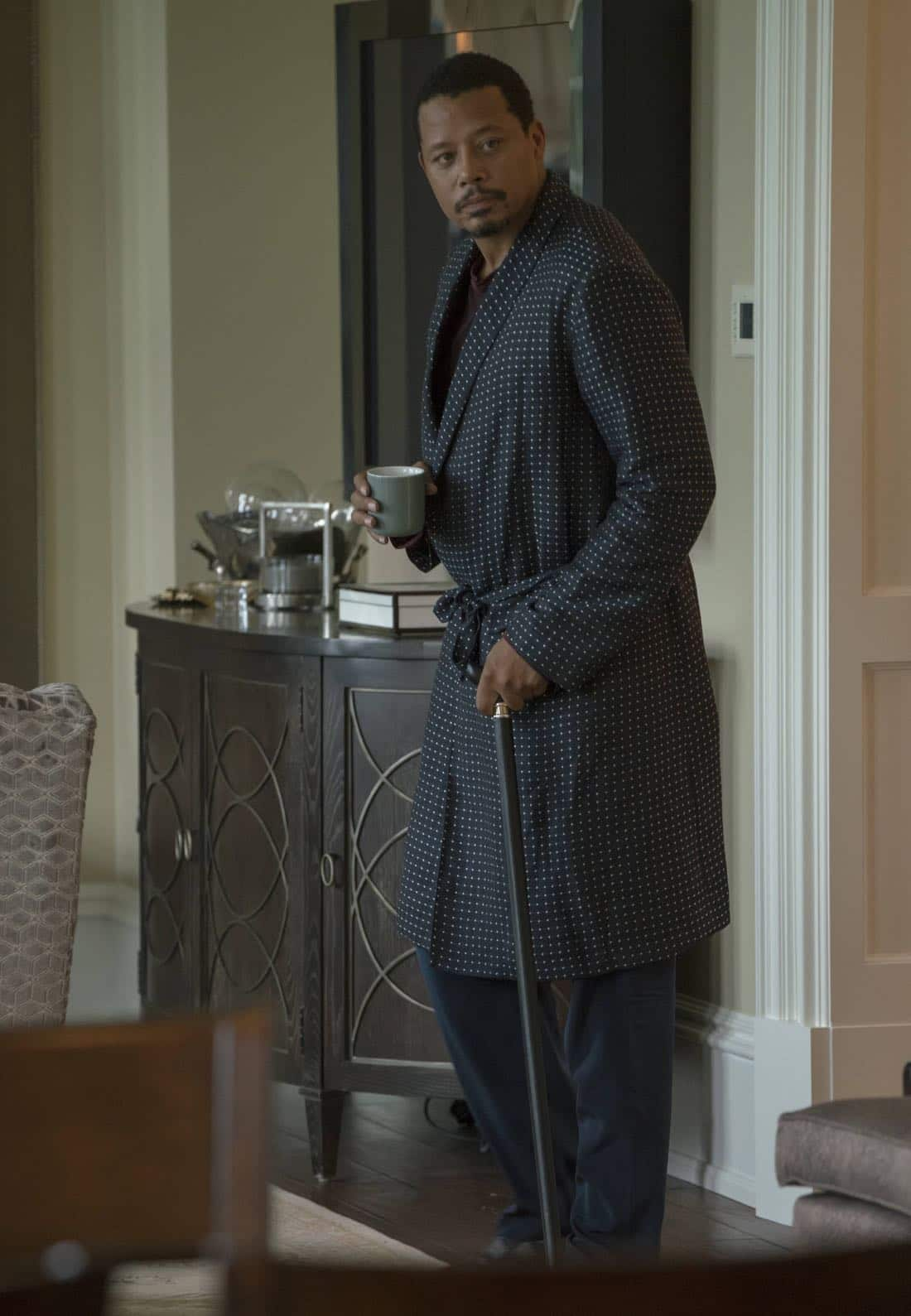 """EMPIRE: Terrence Howard in the """"Noble Memory"""" episode of EMPIRE premiering Wednesday, Sept. 27 (8:00-9:00 PM ET/PT) on FOX. ©2017 Fox Broadcasting Co. CR: Chuck Hodes/FOX"""