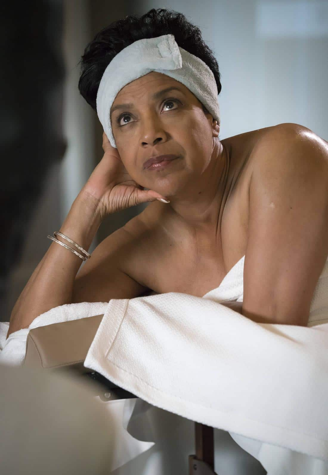 """EMPIRE: Guest star Phylicia Rashad in the """"Noble Memory"""" episode of EMPIRE premiering Wednesday, Sept. 27 (8:00-9:00 PM ET/PT) on FOX. ©2017 Fox Broadcasting Co. CR: Chuck Hodes/FOX"""