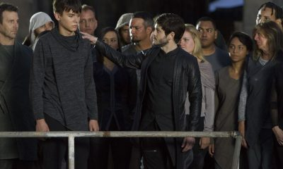 "MARVEL'S INHUMANS - ""Behold...The Inhumans"" - The highly anticipated new Marvel television series ""Marvel's Inhumans"" makes its debut on the small screen with the network premiere of the series' first two episodes on FRIDAY, SEPTEMBER 29 (8:00-10:01 p.m. EDT), on The ABC Television Network. (ABC/Mario Perez) ARI DALBERT, IWAN RHEON"