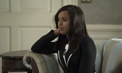 "SCANDAL - ""Watch Me"" - One hundred days into Mellie's presidency, Olivia Pope is proving she can run the world; but to avoid an international incident, she may have to make her toughest call yet. Meanwhile, Quinn Perkins & Associates struggle to find their first client, on the highly-anticipated season premiere of ""Scandal,"" airing THURSDAY, OCTOBER 5 (9:00-10:00 p.m. EDT), on The ABC Television Network. (ABC/Richard Cartwright) KERRY WASHINGTON"