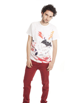 Printed Graffiti Tee